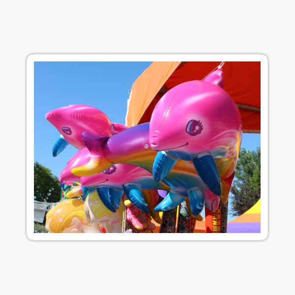 Carnival Inflatable Dolphin Toys Sticker
