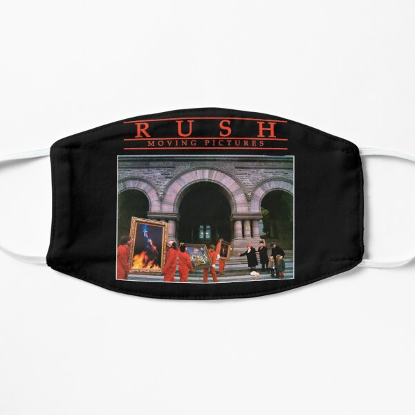 Moving Pictures - Rush Flat Mask