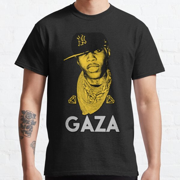 Vybz Kartel Gaza World Boss Camiseta clásica