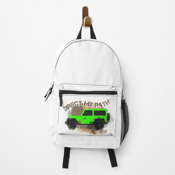 Direct My Path (Green) Backpack