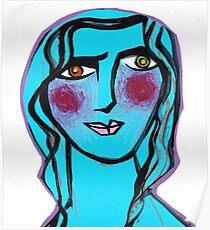 Cerulean Cecilia Poster