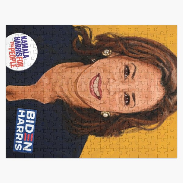 Senator Kamala Harris, the 2020 Vice Presidential Democratic nominee  Jigsaw Puzzle