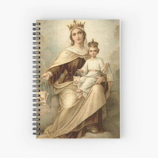 Our Lady of Mount Carmel 4 Spiral Notebook
