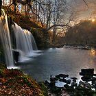 Glyneath Waterfall by Guy  Berresford