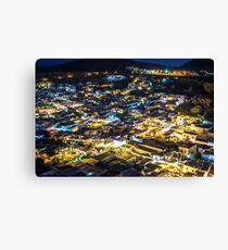 City by night Canvas Print