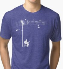 Wired Sound - White Tri-blend T-Shirt