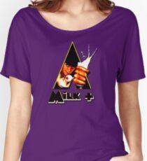 Milk+ Women's Relaxed Fit T-Shirt