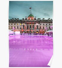 Skating at Somerset House Poster