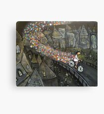 Sparkle Bike Canvas Print