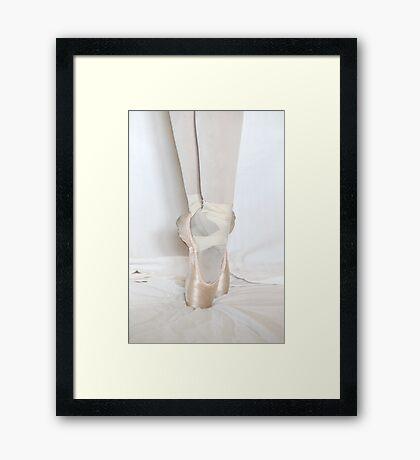 On Pointe Framed Print