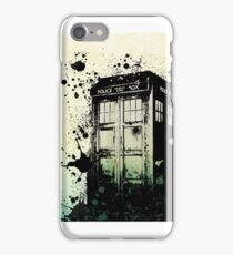 Doctor Who where are you? iPhone Case/Skin
