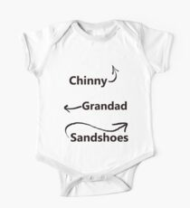 """My associates, Grandad and Sandshoes"" Kids Clothes"