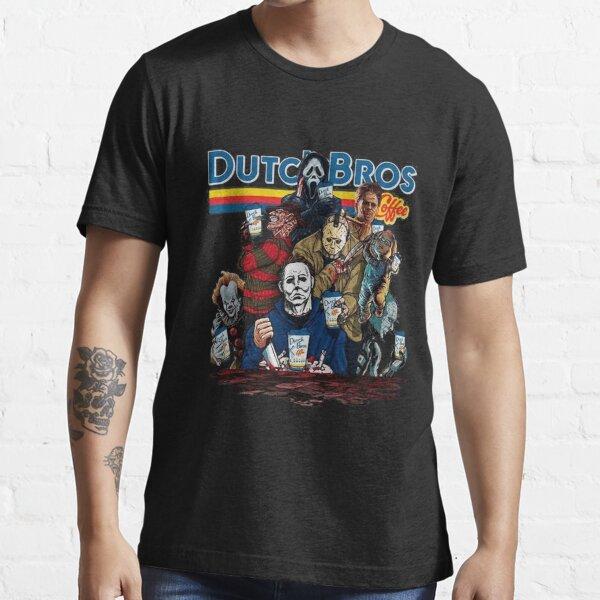 Horror Dutch Bros Halloween Essential T-Shirt