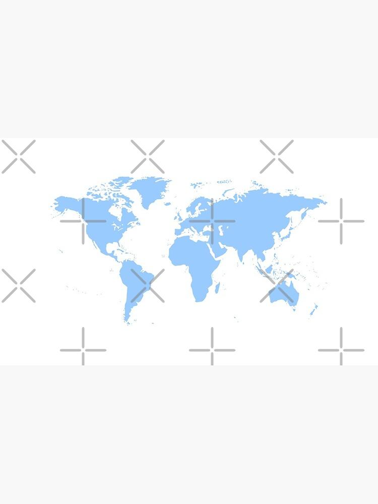 World Map. I love Travel by leodesigner