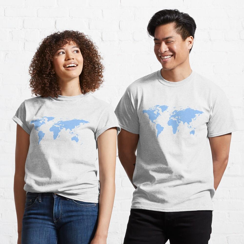 World Map. I love Travel Classic T-Shirt