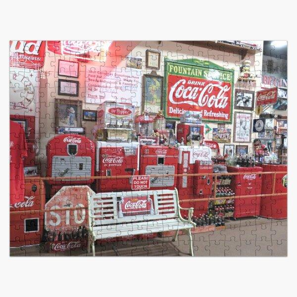 Vintage Nostalgic Soda Display. Jigsaw Puzzle