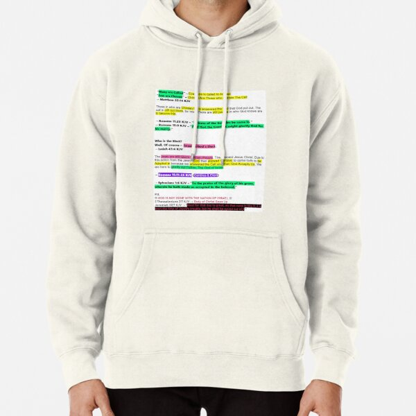 All Called but Few Accepted Pullover Hoodie