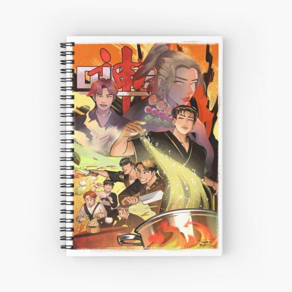 Stray Kids God's Menu Spiral Notebook