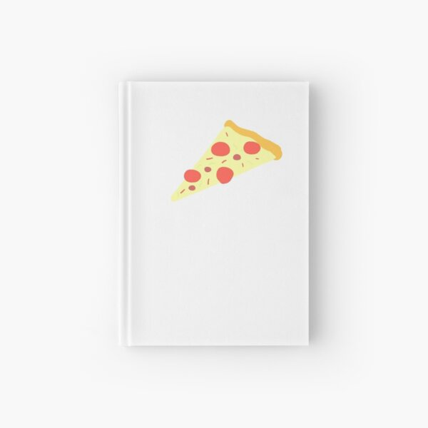 pizza with pepperoni  / a food  cute tshirt Hardcover Journal