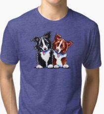 Little League Border Collies Tri-blend T-Shirt