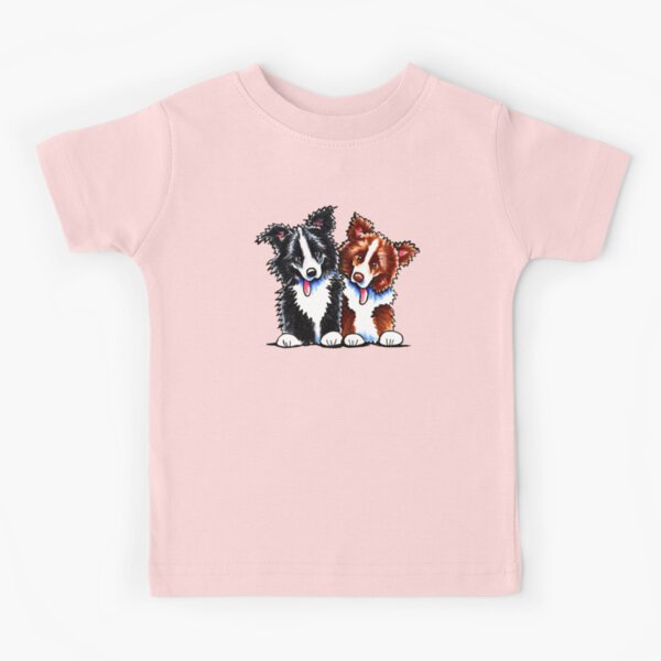 Little League Border Collies Kids T-Shirt