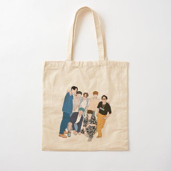Photo de groupe BTS Dynamite Tote bag classique