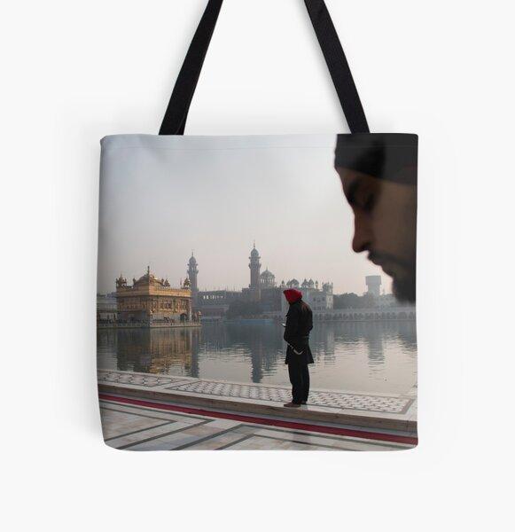 Amritsar - Harmandir Sahib All Over Print Tote Bag