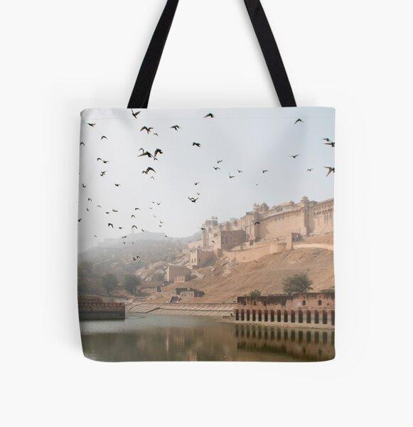 Jaipur Amber Fort All Over Print Tote Bag