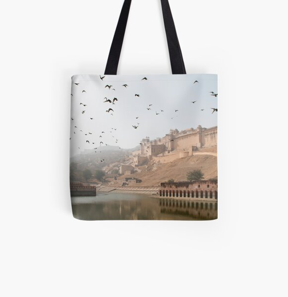 Jaipur Amber Fort All Over Print Tote Bag