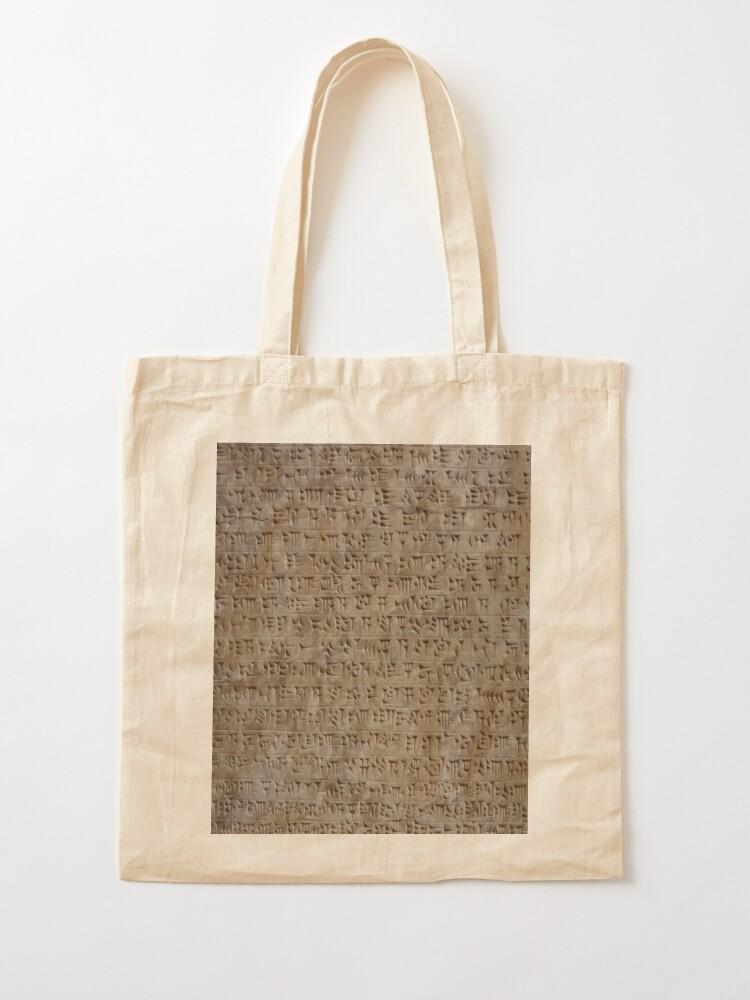 Alternate view of design, decoration, motif, marking, ornament, ornamentation, system, order, arrangement, form Tote Bag