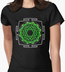 CHAKRA_4th_MANTRA_2014 Women's Fitted T-Shirt