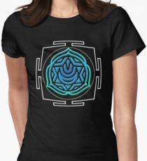 CHAKRA_5th_MANTRA_2014 Women's Fitted T-Shirt