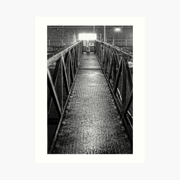 Industrial Bridge Art Print