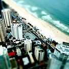 Surfers Paradise - Tilt Shift by Craig Shillington