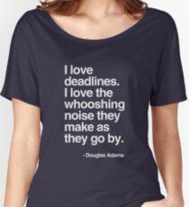 Douglas Adams Deadline Lover Women's Relaxed Fit T-Shirt