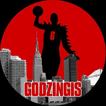 Godzingis - Red by scribbledeath