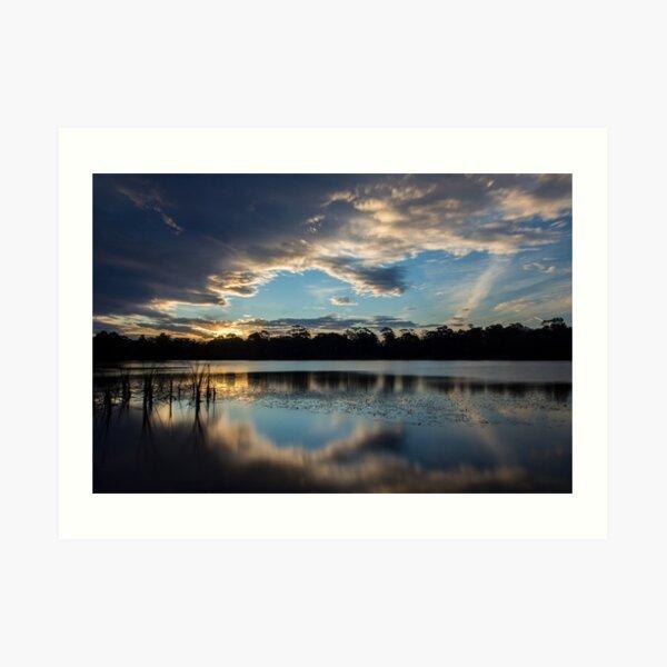 Sunset Reflections Art Print