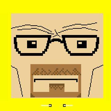 Breaking Bad Walter White Pixel Art by crtjer