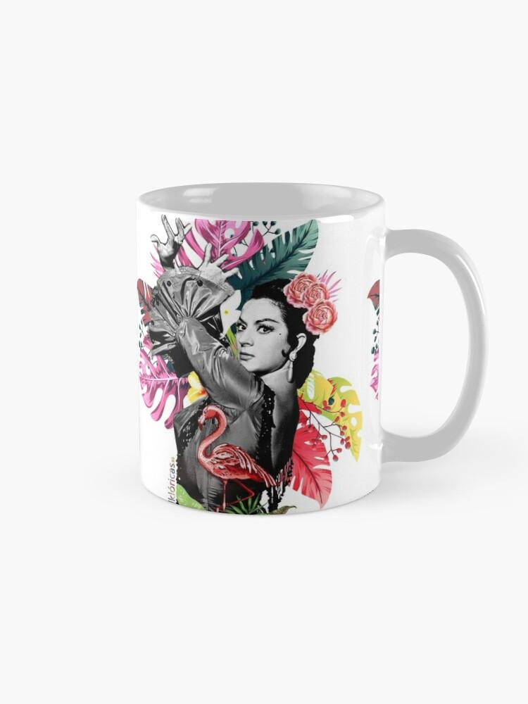 Vista alternativa de Taza Lola Flores Tropical Flamenco