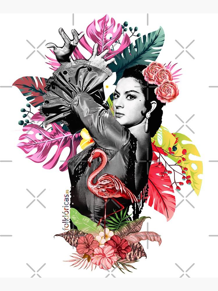 Lola Flores Tropical Flamenco de danimota