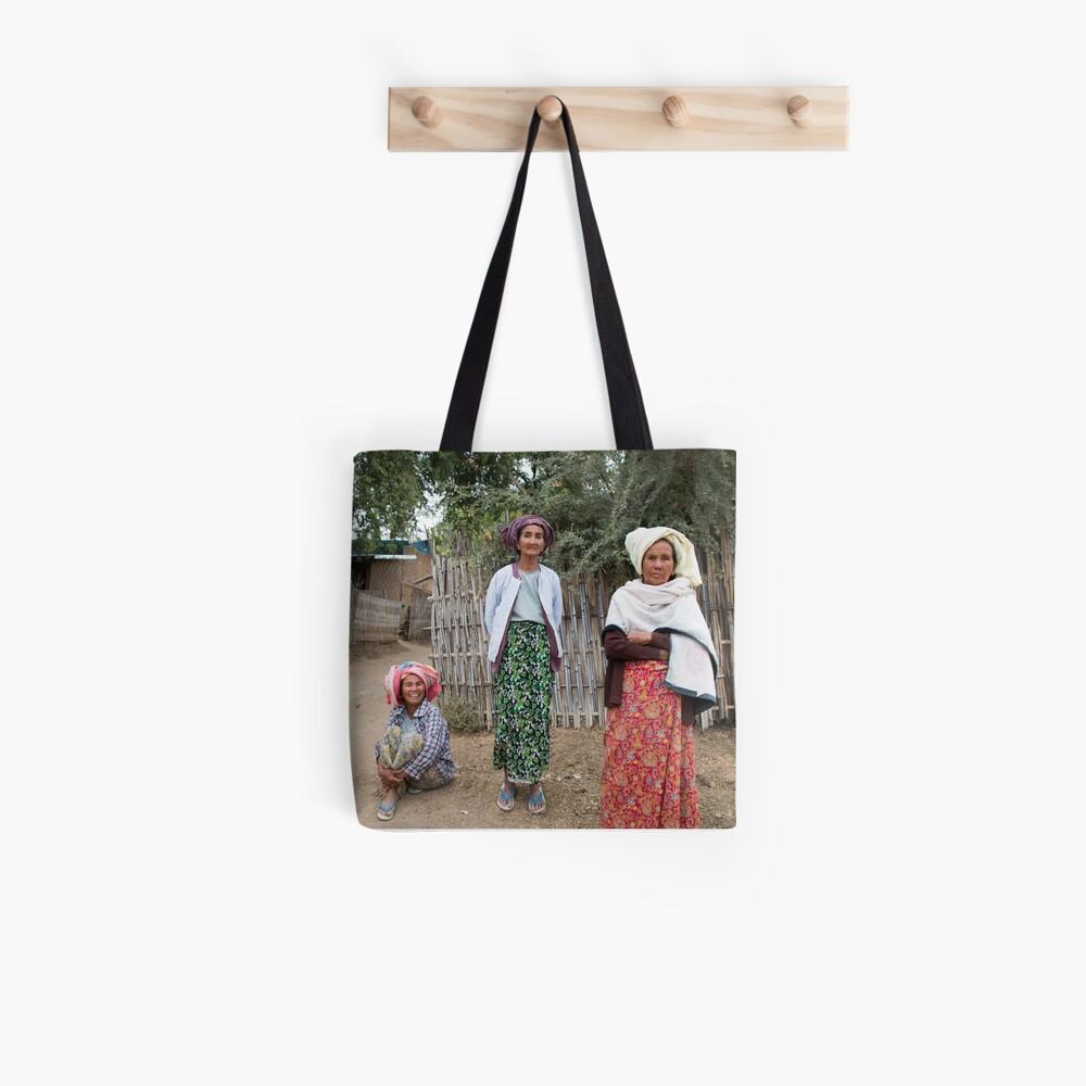Myanmar Ladys Tote Bag
