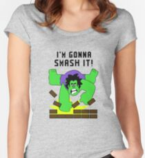 Smash-It Banner Women's Fitted Scoop T-Shirt