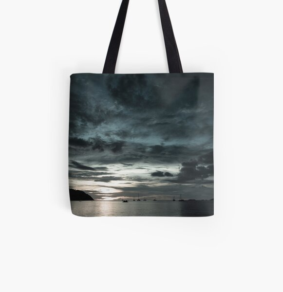 Cold Sunset in Koh Lipe All Over Print Tote Bag