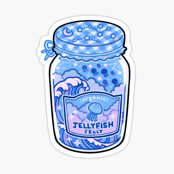 jellyfish jelly Sticker