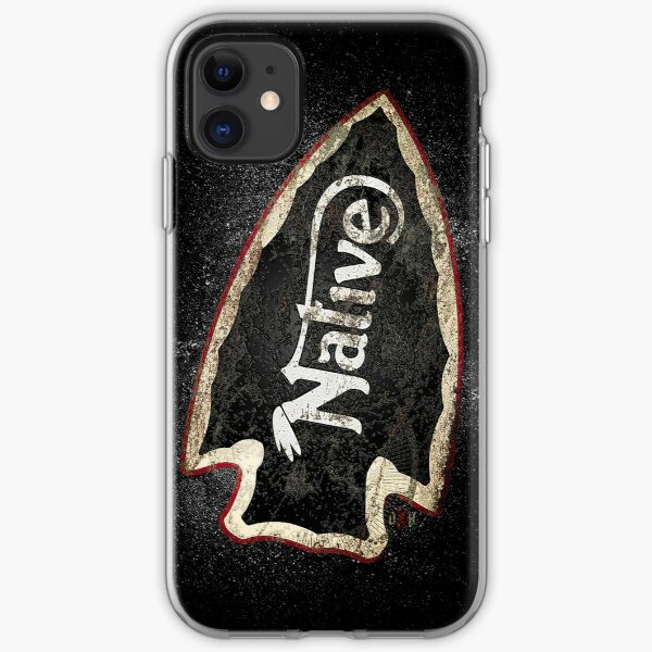 NATIVE —ASPHALT iPhone Soft Case