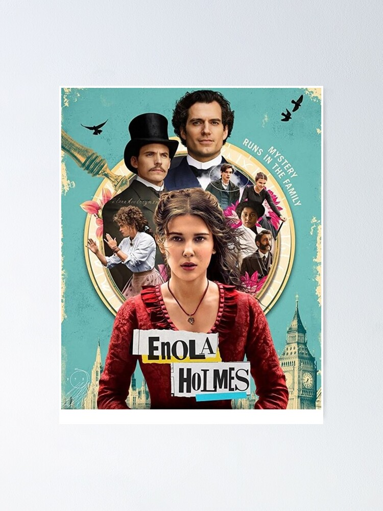 Alternate view of Enola Holmes Poster
