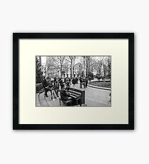 Sing Us A Song . . .  Framed Print