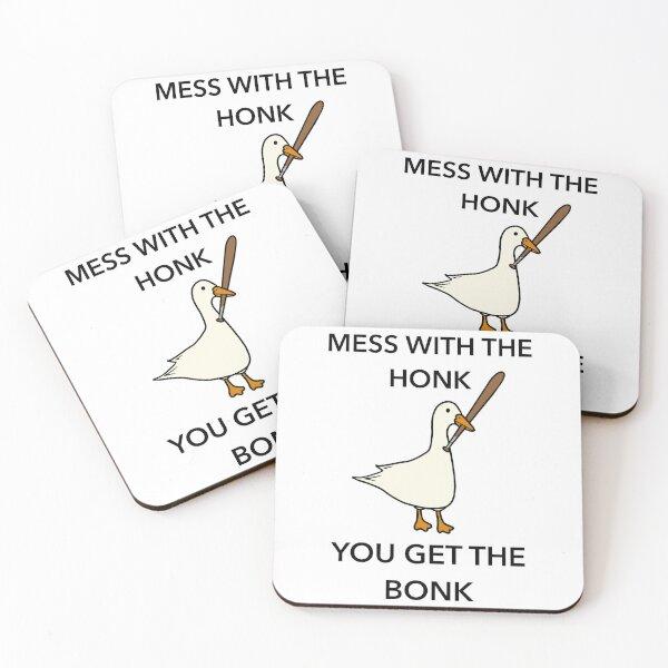 Honk Bonk! Coasters (Set of 4)