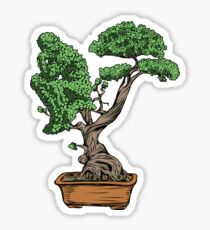 Bonsai Thinking Sticker
