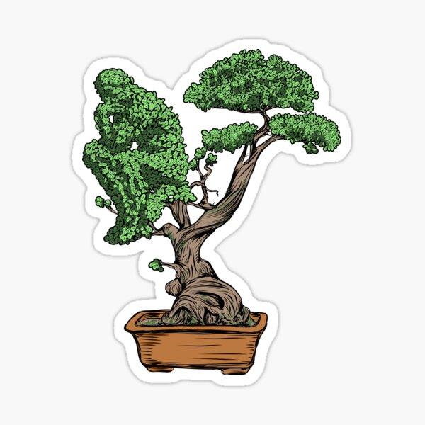 Bonsai Thinking Sticker